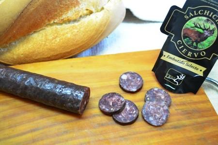 Salchichon de venado 9.50€/kg