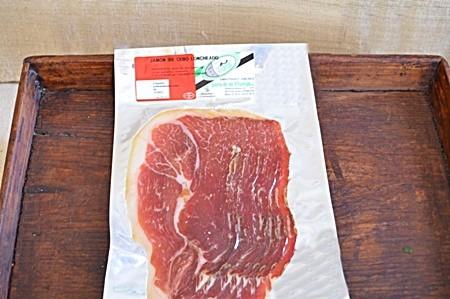 Sobre de Jamón Cebo Campo Ibérico 39€/kg