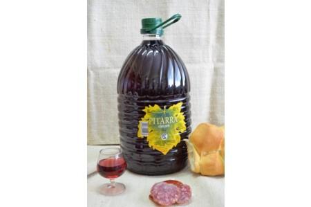 Vino Pitarra Chudin botella plástico 5L