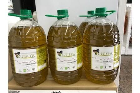 "Aceite de Oliva Virgen Extra ""Coop. Olibor"" Castañar de Ibor 5l"