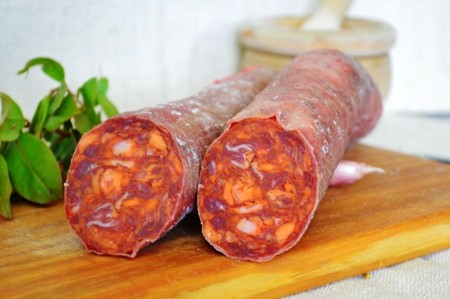 Medio Chorizo Ibérico Bellota Cular  a 11.90€/kg