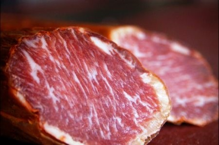 Sobre de Caña Lomo bellota Ibérico (75% raza ibérica) 35€/kg