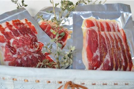 Paleta bellota ibérica D.O.P. Dehesa de Extremadura Loncheada a 55 €/kg