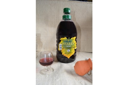 Vino Pitarra Chudin botella plástico 2L