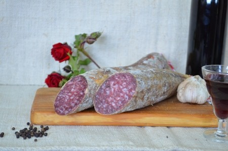 Medio Salchichón Extra Cular a 8,50€/kg