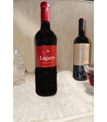 Vino Lagares Tinto botella cristal