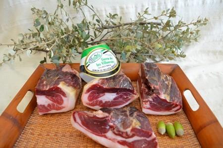 Jamón de Bellota Ibérico 75% raza ibérica Deshuesado 70 €/kg
