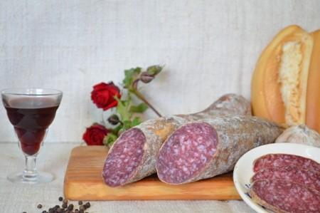 Medio Salchichón Ibérico Cular 11,90€/kg